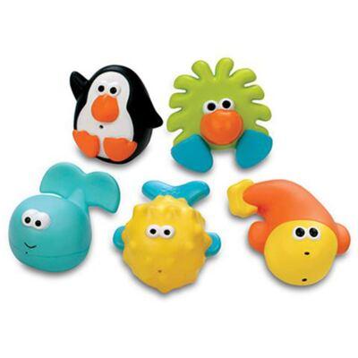 Imagem 7 do produto Conjunto com 5 Amigos do Banho - Sassy
