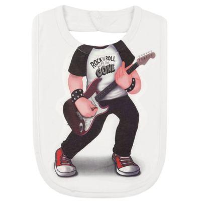 Imagem 2 do produto Babador Maxi em suedine Mini Rock Star - Mini Mix