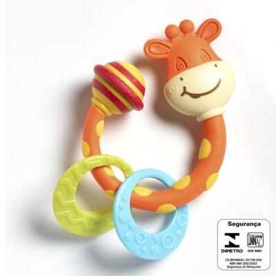 Imagem 2 do produto Meu Primeiro Chocalho Mordedor Girafinha  (0m+) - Tiny Love