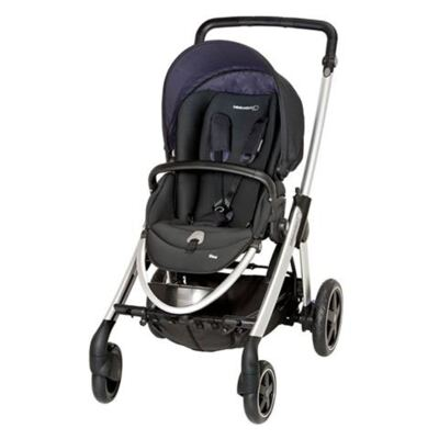 Imagem 2 do produto Travel System: Carrinho de bebê Elea Total Black + Moisés Windoo Plus Black Raven + Bebê Conforto Streety.fix Black Raven (0m+) - Bébé Confort
