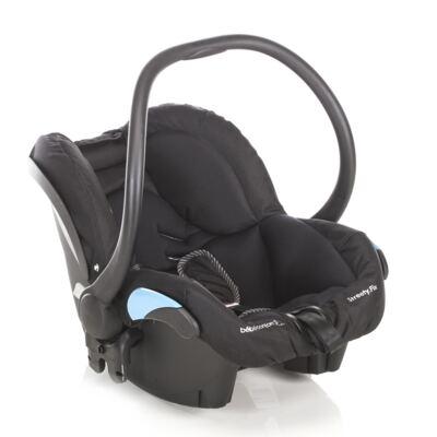 Imagem 4 do produto Travel System: Carrinho de bebê Elea Total Black + Moisés Windoo Plus Black Raven + Bebê Conforto Streety.fix Black Raven (0m+) - Bébé Confort