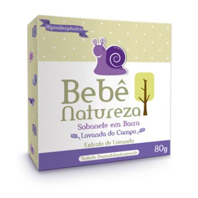 Imagem 1 do produto Sabonete Lavanda do Campo 80gr - Bebê Natureza