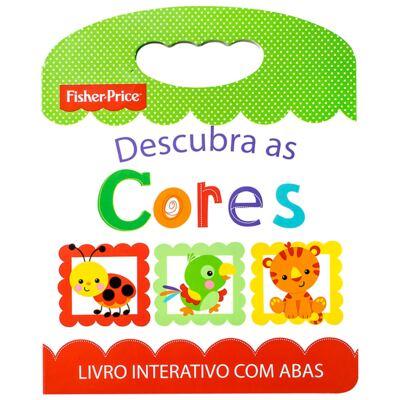 Imagem 1 do produto Livro infantil Descubra as Cores (12m+) - Fisher Price