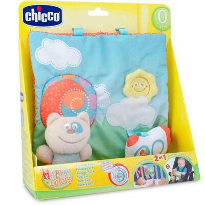 Imagem 4 do produto Painel 2 em 1 Happy Colors (0m+) - Chicco
