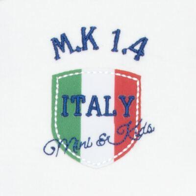 Imagem 3 do produto Body longo com Calça para bebe em Pima Cotton Supreme Itália - Mini & Kids - CBBC335 BODY ML COM CALÇA SUEDINE ITÁLIA-GG