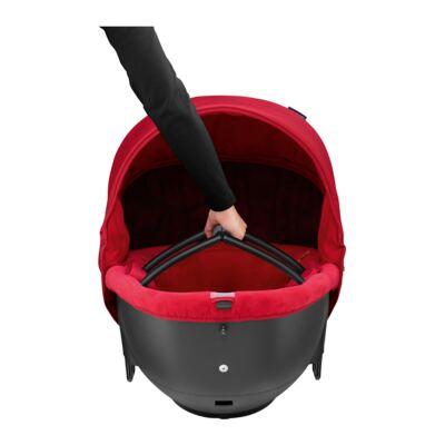 Imagem 2 do produto Moisés Windoo Plus Black Raven (0m+) - Bébé Confort