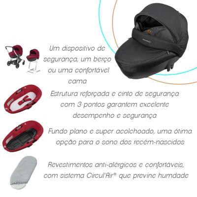 Imagem 5 do produto Moisés Windoo Plus Black Raven (0m+) - Bébé Confort