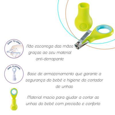 Imagem 3 do produto Cortador de unha com base Azul (1m+) - Bébé Confort