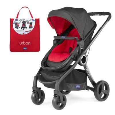 Imagem 1 do produto Carrinho Urban Plus + Color Pack Urban Red Wave - Chicco