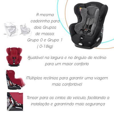 Imagem 6 do produto Cadeira Iseos Neo Plus Black Raven(0m+) - Bébé Confort - 8521-BLACKRAVEN Cadeira Iseos Neo+ (0m+)
