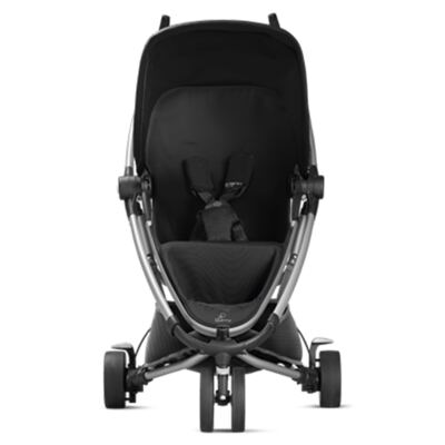 Imagem 8 do produto Travel System:  Bebe Conforto Pebble Plus Black Raven Maxi-Cosi  + Carrinho Zapp Xtra 2 Rocking Black Quinny