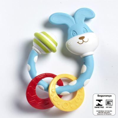 Imagem 2 do produto Meu Primeiro Chocalho Mordedor Coelhinho  (0m+) - Tiny Love