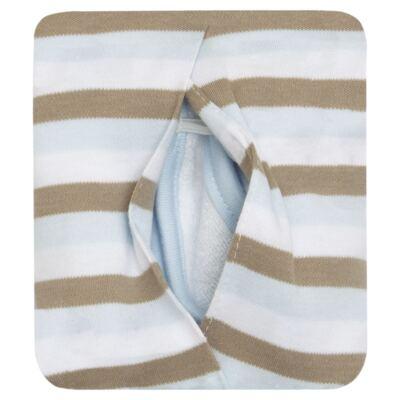 Imagem 2 do produto Babador com bolsinho em Pima Cotton Supreme - Toffee