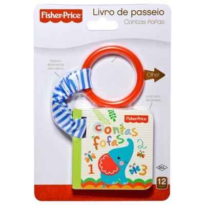 Imagem 1 do produto Livro de passeio Contas Fofas (12m+) - Fisher Price