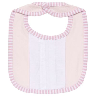 Imagem 2 do produto Babador para bebe atoalhado com bolsinho Elefantinha - Classic for Baby
