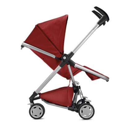 Imagem 9 do produto Travel System: Bebe Confort com Base Citi Black Raven Maxi-Cosi + Carrinho Zapp Xtra 2 Red Rumour Quinny