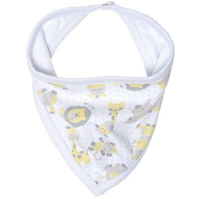 Imagem 1 do produto Babador Bandana para bebe em suedine Nature Giraffe & Friends - Classic for Baby
