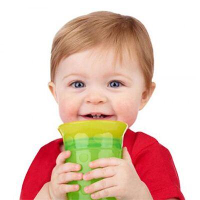 Imagem 3 do produto Copo Grow Up Pequeno Antivazamento Verde (9m+) - Sassy