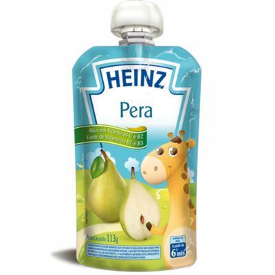 Imagem 1 do produto Papinha para bebe Pera (6m+)  - Heinz