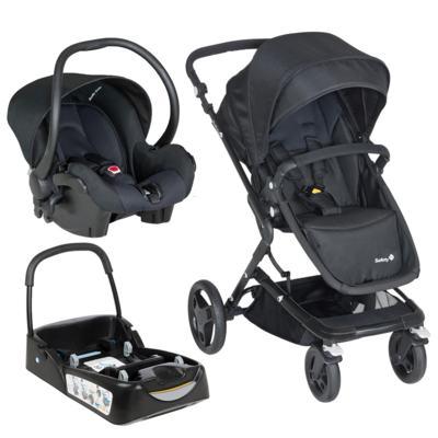 Imagem 1 do produto Travel System Kokoon: Carrinho Kokoon + Bebê Conforto One Safe XM Full Black + Base  - Safety 1st