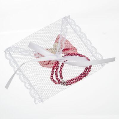 Imagem 3 do produto Prendedor de chupeta Laço Coração Vermelho - Roana