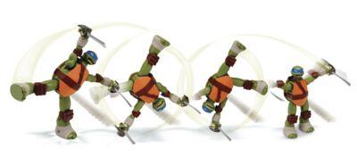 Imagem 2 do produto Tartarugas Ninja Action Leonardo - BR286A