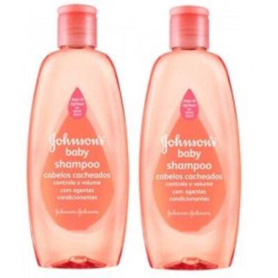 Imagem 1 do produto Shampoo Johnson's Baby Cabelos Cacheados 200ml 2 Unidades