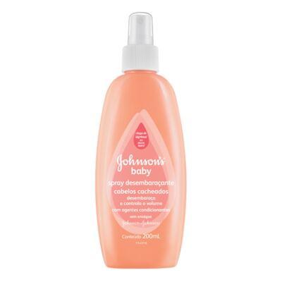 Imagem 1 do produto Condicionador Johnson's Baby Spray Desembaraçante Cabelos Cacheados 200ml