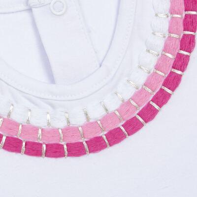 Imagem 2 do produto Blusinha mullet em cotton Maxi Colar - Missfloor - COTTON-4