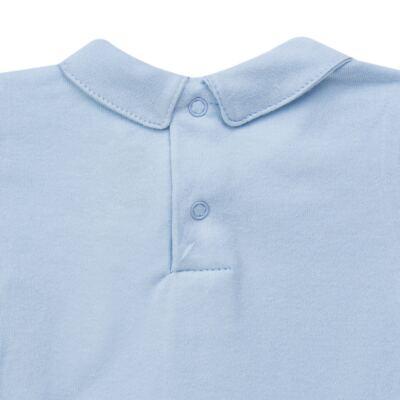 Imagem 4 do produto Body longo c/ Calça (Mijão) para bebe em algodão egípcio Chevalier - Petit - 19994167 CONJ BODY ML C/ MIJAO SUED/VISCO URSO-G