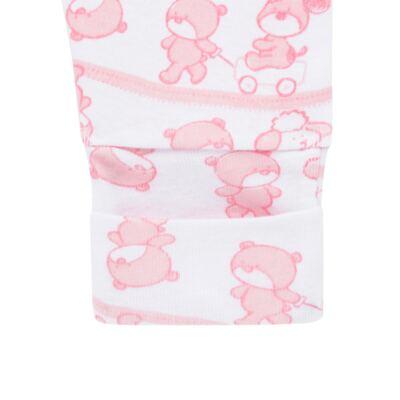 Imagem 6 do produto Body longo com Calça (mijão) para bebe em high comfort Pink Litle Friends - Vicky Lipe - 1825151.311 BODY M/L MIJÃO PÉ REVER. FRIENDS-P