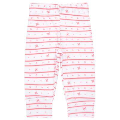 Imagem 3 do produto Body longo com Calça para bebe em algodão egípcio c/ jato de cerâmica e filtro solar fps 50 Pink Little Toys - Mini & Kids - CS541.320 CONJ BODY ML C/ MIJAO ESTRELAS ROSA-RN