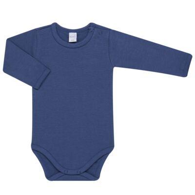 Imagem 2 do produto Body longo com Calça para bebe em algodão egípcio c/ jato de cerâmica e filtro solar fps 50 Mariner - Mini & Kids - CS571.323 CONJ BODY ML C/ MIJAO SUEDINE LISTRAS-G