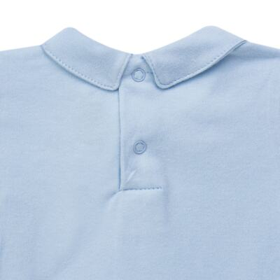 Imagem 4 do produto Body longo c/ Calça (Mijão) para bebe em algodão egípcio Chevalier - Petit - 19994167 CONJ BODY ML C/ MIJAO SUED/VISCO URSO-P