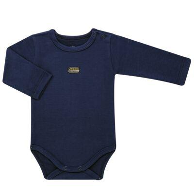 Imagem 2 do produto Body longo com Calça para bebe em algodão egípcio c/ jato de cerâmica e filtro solar fps 50 Sports - Mini & Kids - GG