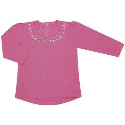 Imagem 1 do produto Blusinha mullet em cotton Pink - Missfloor - COTTON-3