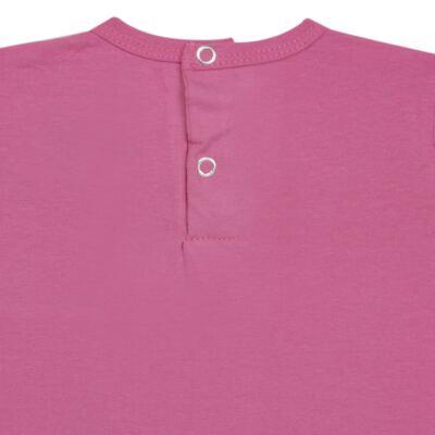Imagem 3 do produto Blusinha mullet em cotton Pink - Missfloor - COTTON-3