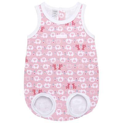 Imagem 1 do produto Banho de sol para bebe em suedine Little Cute - Vicky Lipe - M