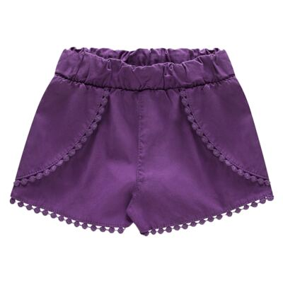 Imagem 3 do produto Blusinha c/ Shorts para bebe em cotton Sweety Candy - Charpey - BRANCO-GG