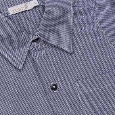 Imagem 4 do produto Body Camisa c/ Calça & Suspensório para bebe em tricoline Xadrez - Roana - Bege -RN