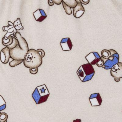 Imagem 6 do produto Body com Mijão em algodão egípcio Baby Toys - Roana - BM000887005 BODY C MIJAO 666 BEGE-RN