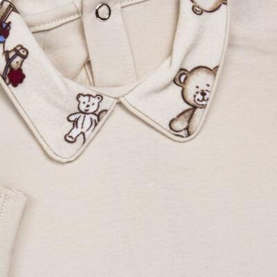 Imagem 3 do produto Body com Mijão em algodão egípcio Baby Toys - Roana - BM000887005 BODY C MIJAO 666 BEGE-P