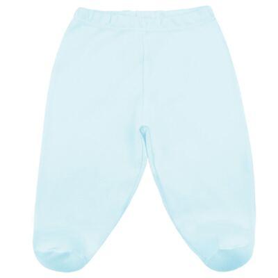 Imagem 3 do produto Body com Calça (mijão) em suedine Azul - Vicky Lipe - CEL233 CJ. BODY ML C MIJAO SUEDINE AZUL BB-RN