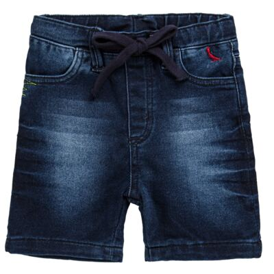 Imagem 1 do produto Bermuda para bebe Jeans  - Reserva Mini - RM25434 BERMUDA BB JEANS DETALHE-G