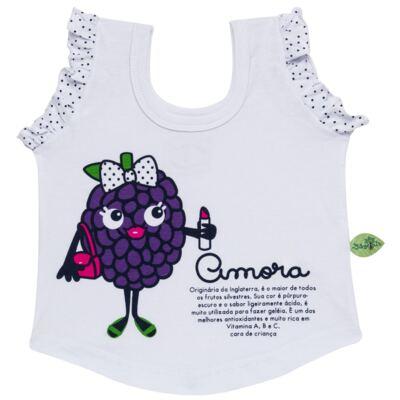 Imagem 2 do produto Baby Doll que Brilha no Escuro Amora - Cara de Criança - B2297 AMORA PJ-BABY DOLL M/MALHA-4