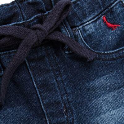 Imagem 2 do produto Bermuda para bebe Jeans  - Reserva Mini - RM25434 BERMUDA BB JEANS DETALHE-M