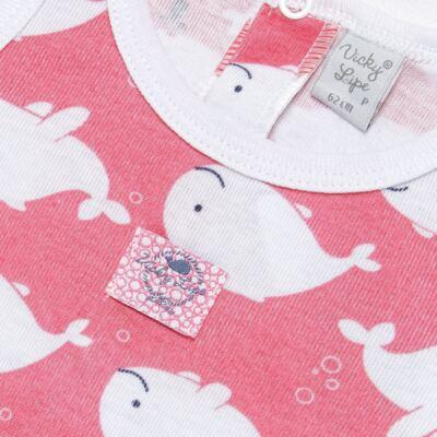 Imagem 2 do produto Banho de sol para bebe em high comfort Cute Whale - Vicky Lipe - 20501334 BANHO DE SOL MALHA BALEIA-P