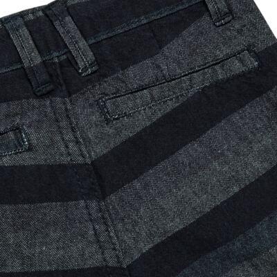 Imagem 5 do produto Bermuda para bebe Striped Jeans - Reserva Mini - RM23230 BERMUDA BB CASUAL AVESSO-1