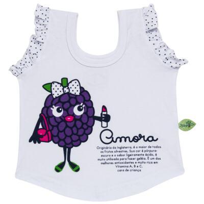 Imagem 2 do produto Baby Doll que Brilha no Escuro Amora - Cara de Criança - B2297 AMORA PJ-BABY DOLL M/MALHA-2