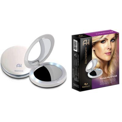 Imagem 2 do produto Espelho Ana Hickmann com LED Pocket Mirror USB Relaxbeauty